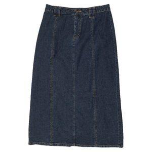 Kim Rogers Blue Jean Skirt Size 10P NWOT